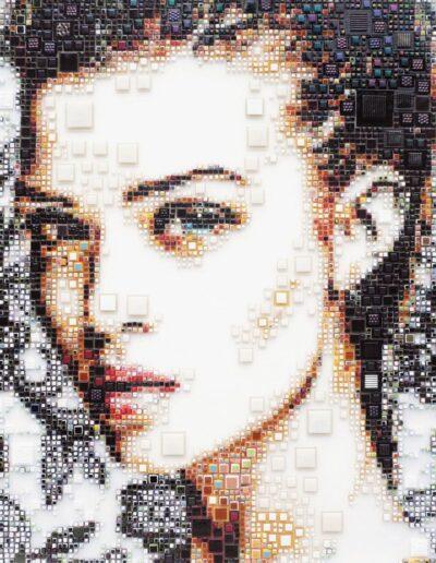An artwork of Isabelle called 'Lovina'