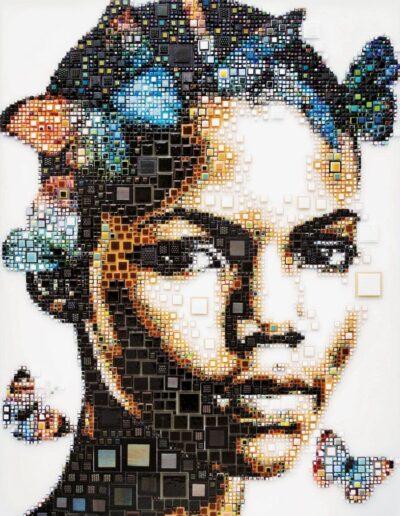 An artwork of Isabelle called 'Tsiszu'