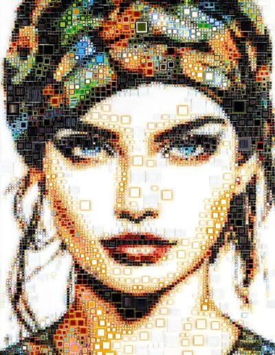 An artwork of Isabelle called 'Boho girl'