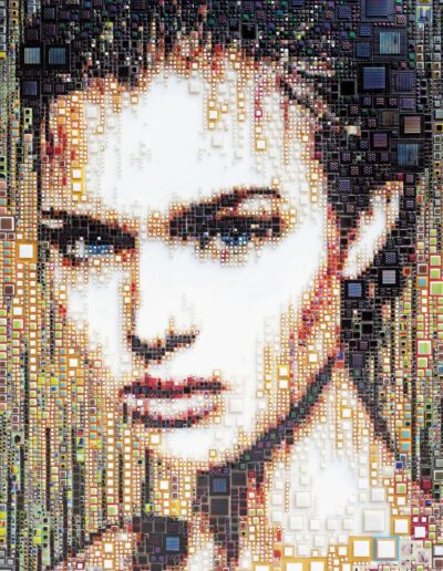 An artwork of Isabelle called 'Jazlin'