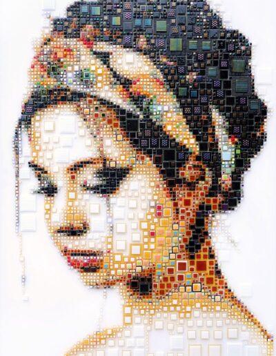 An artwork of Isabelle called 'Fleur'