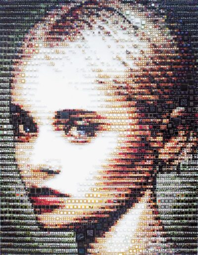 An artwork of Isabelle called 'Allegra'