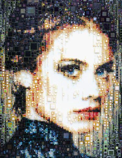An artwork of Isabelle called 'Janelle'