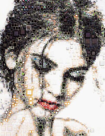 An artwork of Isabelle called 'Ambrosine'